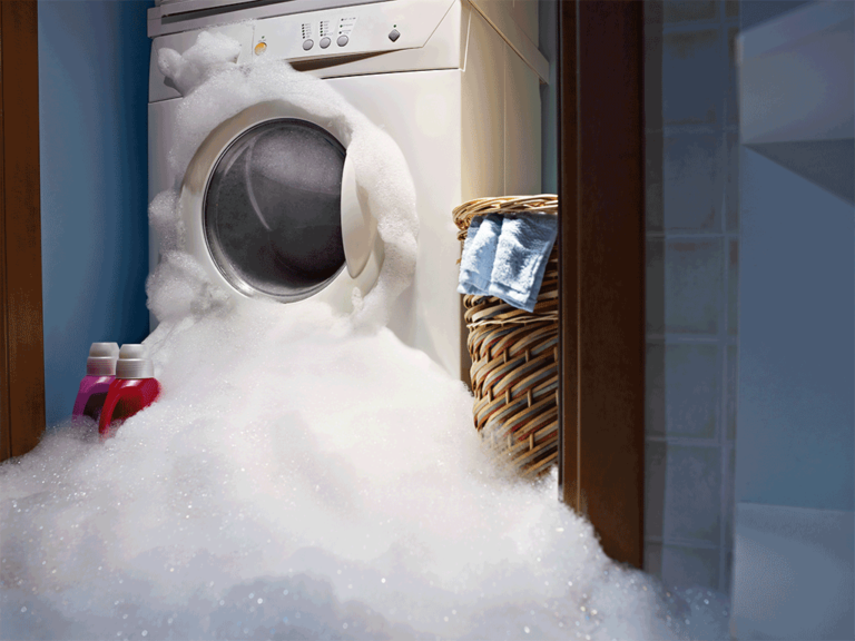 Washing Machine Overflow