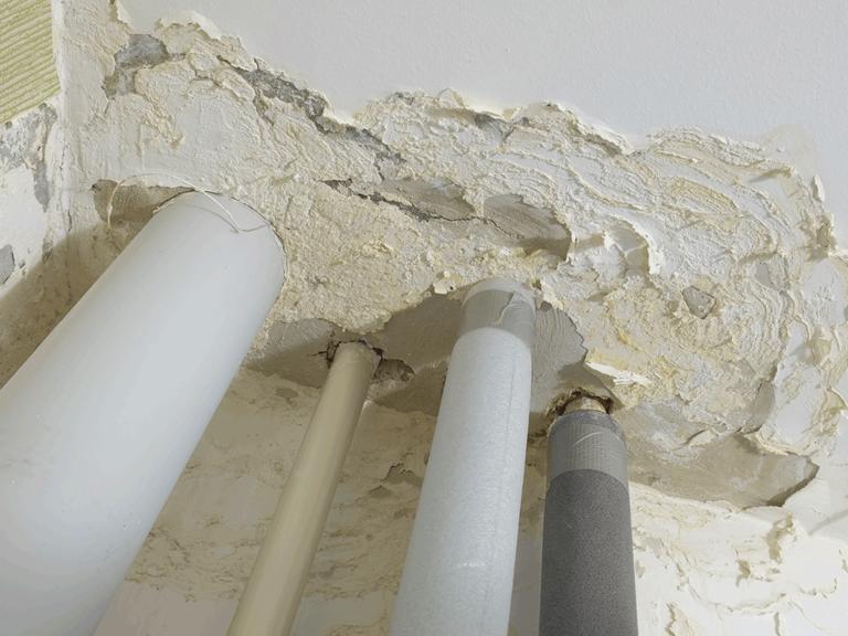 Water Heater Leak Damage