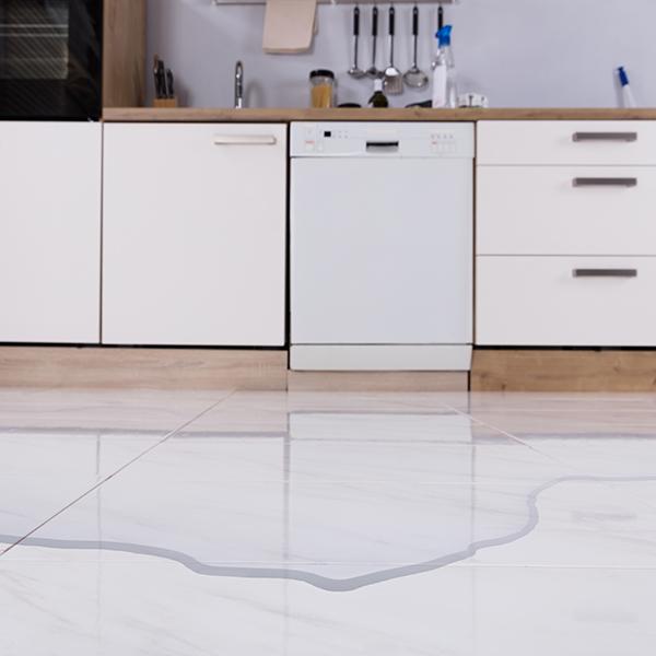 Dishwasher Water Damage To Kitchen